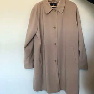 London Fog Tan Coat